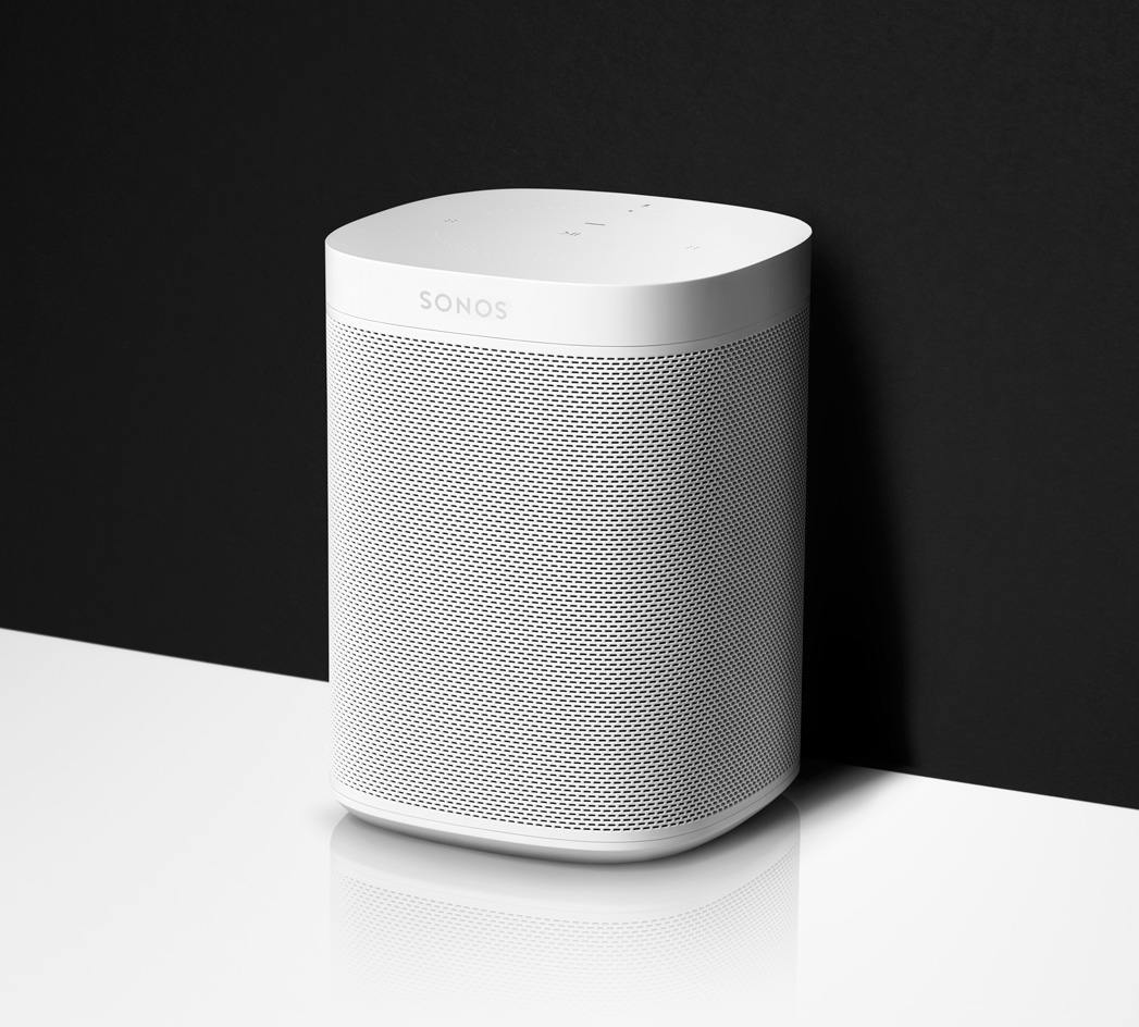 Sonos One Smart Speaker in white
