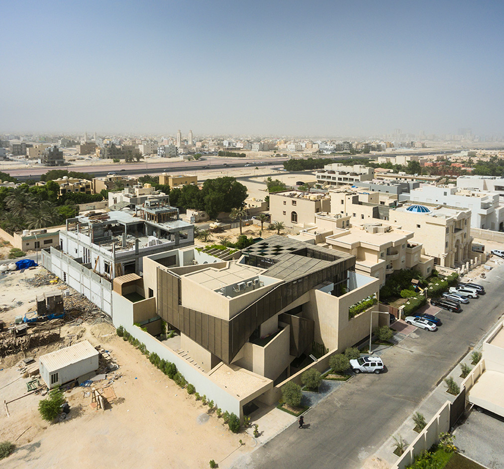 Three gardens house in kuwait by agi architects wallpaper for Home wallpaper kuwait