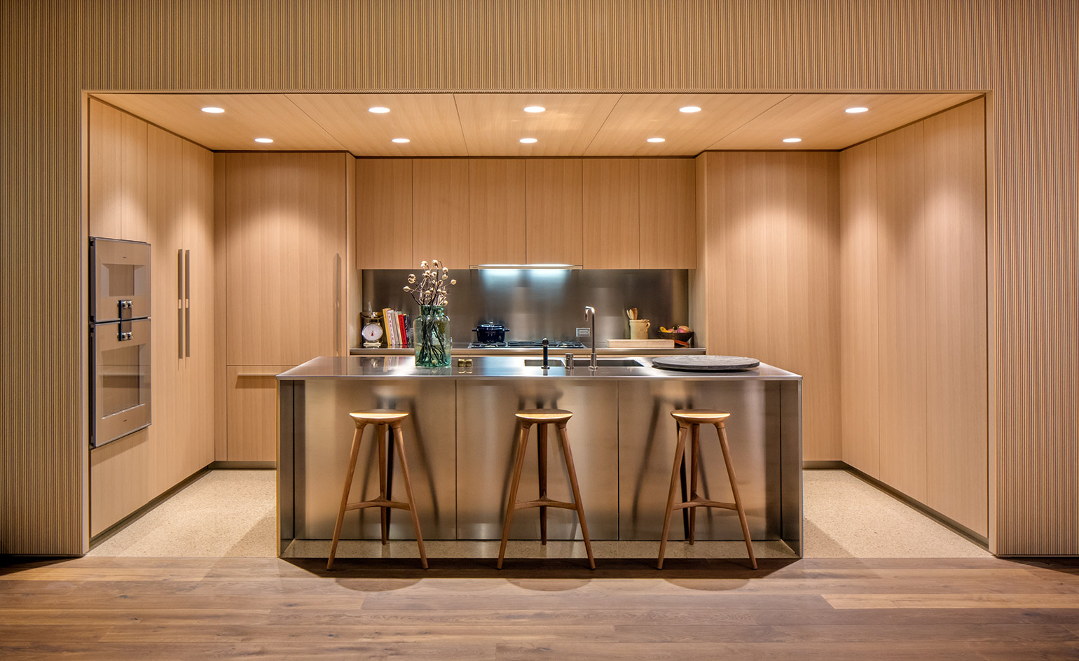 modernizing oak kitchen cabinets isay weinfeld reveals jardim s interiors wallpaper 23581