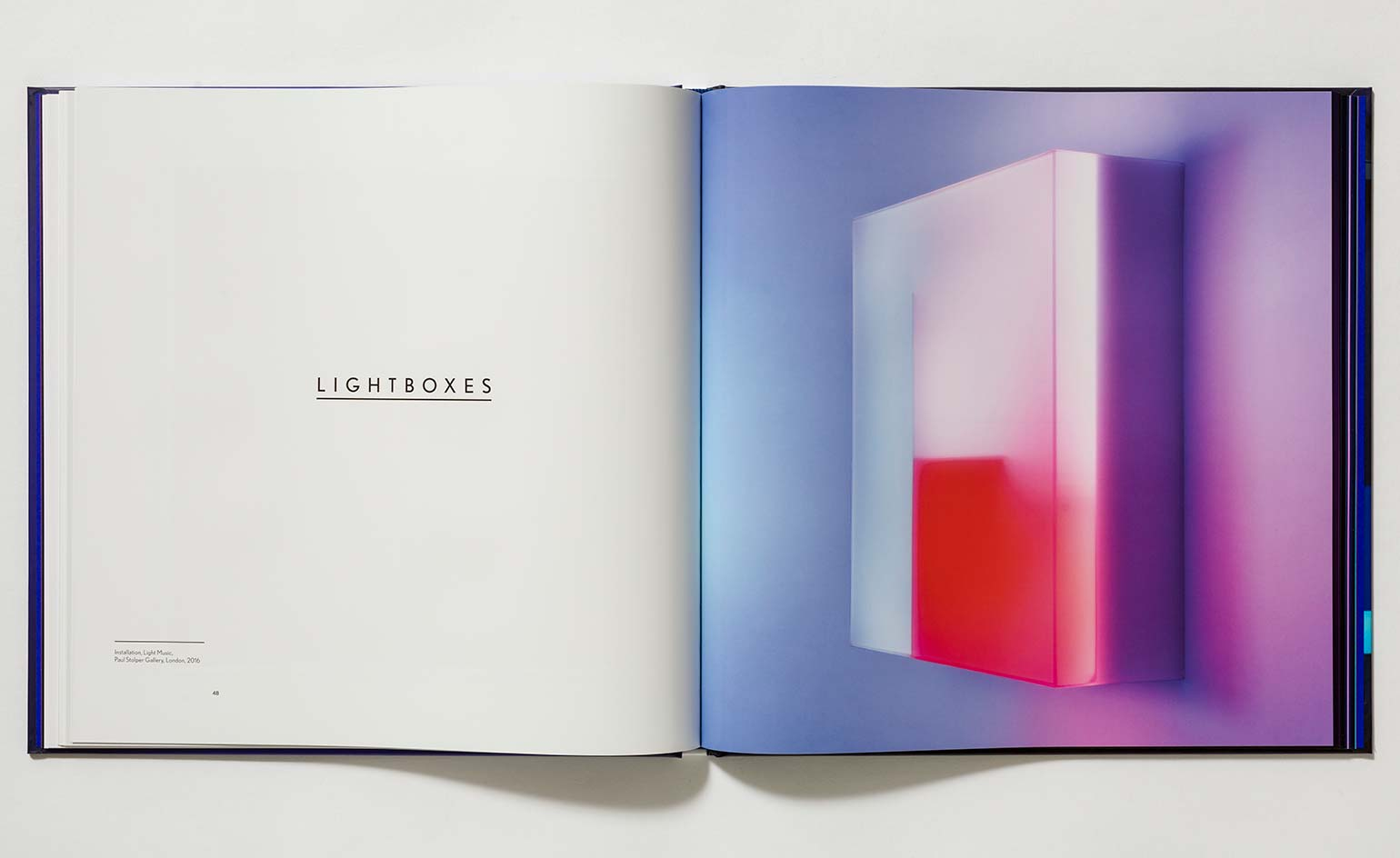 Brian Eno makes visual music in his 'Light Works' book and
