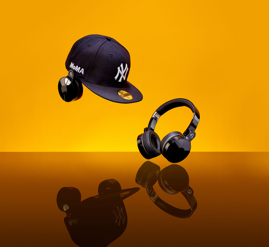 Stereocap headphones, for MoMA Design Store, 2018