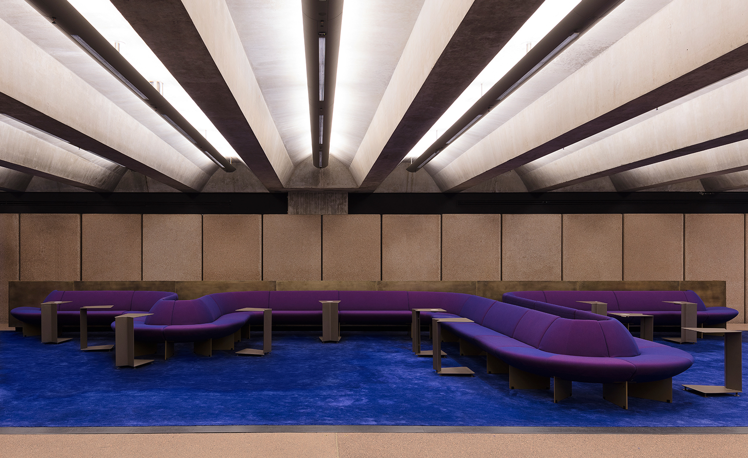 Opera House Western Foyer : Sydney opera house gains a new digital archive lounge