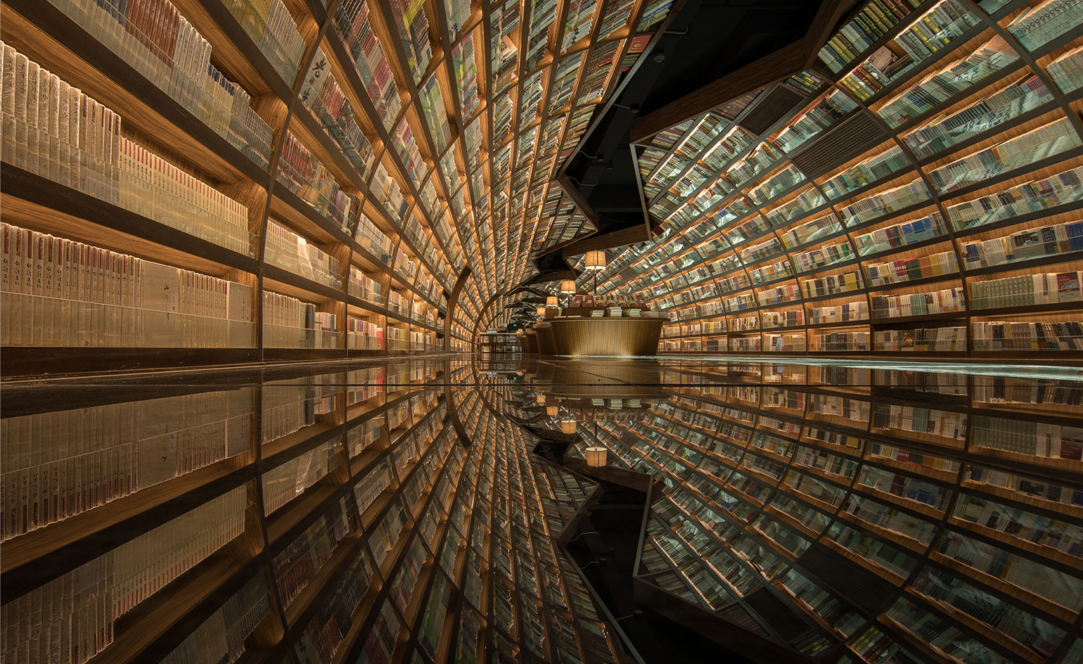 World S Most Beautiful Modern Libraries Wallpaper