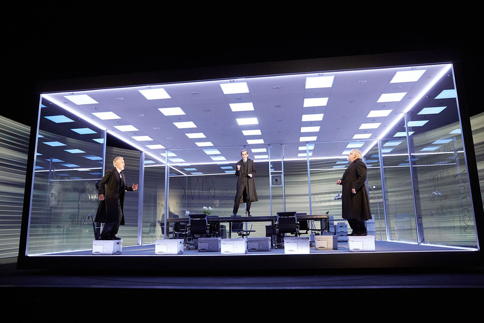 Es Devlin On Her Set Design For The Lehman Trilogy Play Images, Photos, Reviews