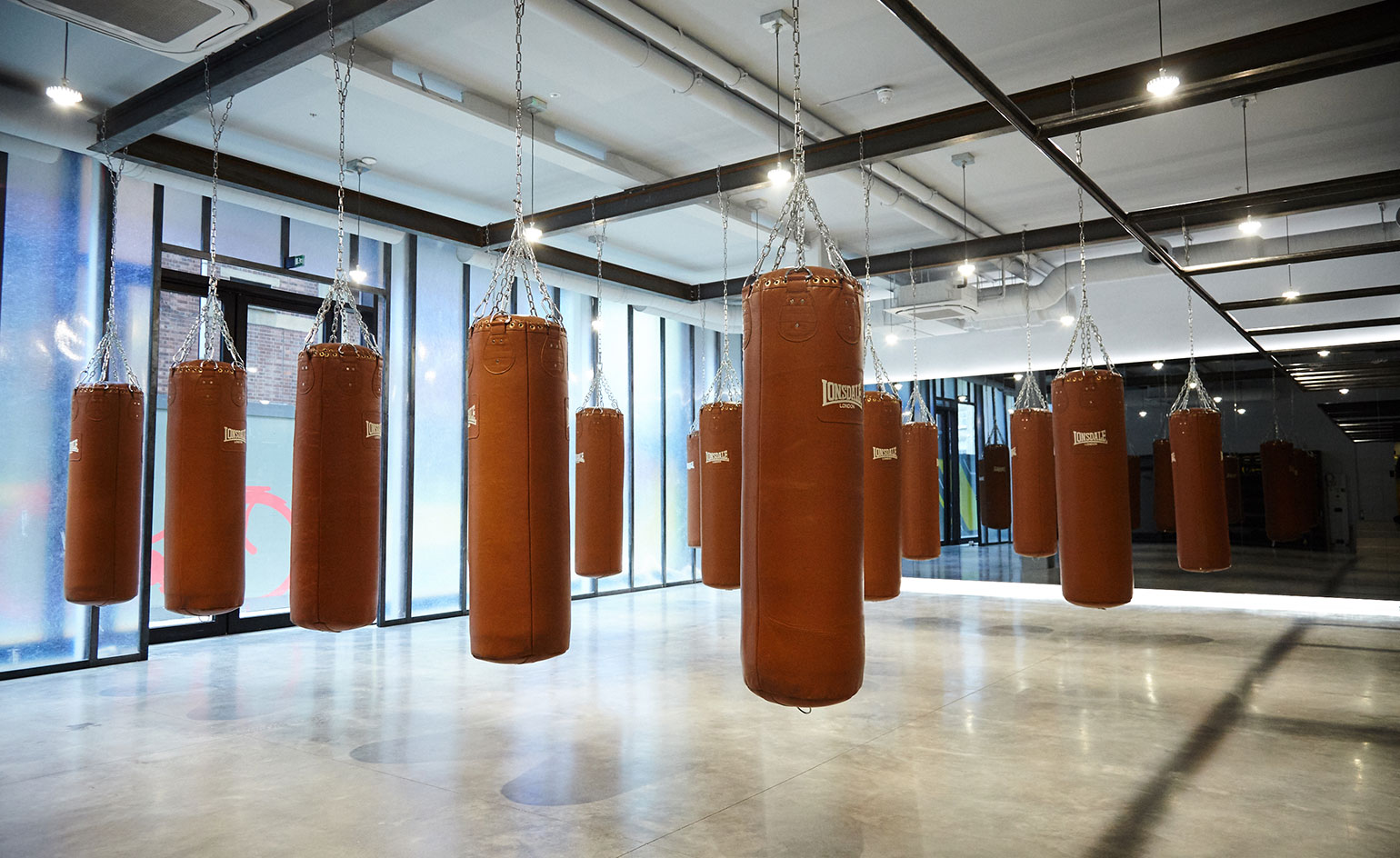 Blok Gym in London features a boxercise class