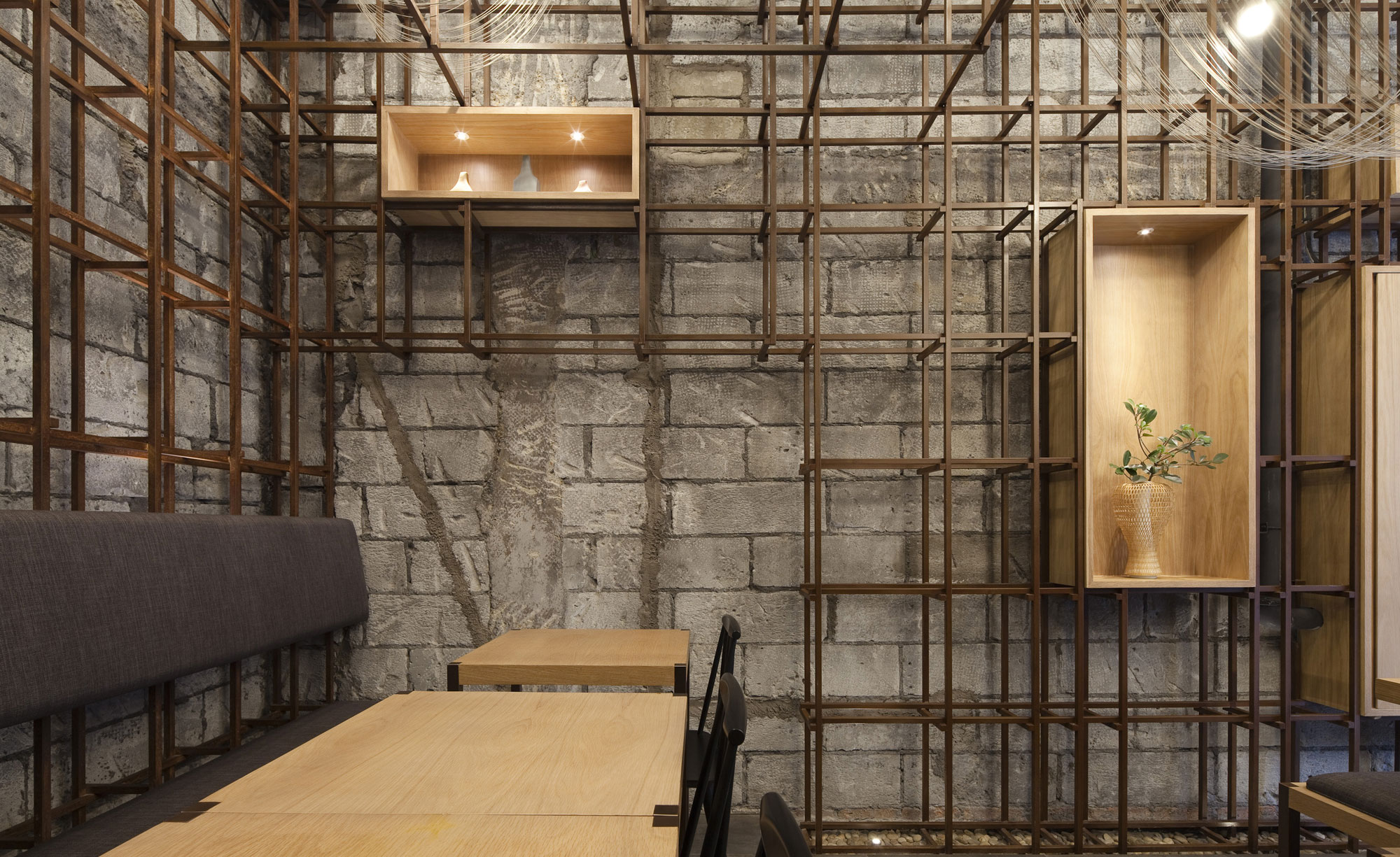 Bamboo Furniture For Cafe