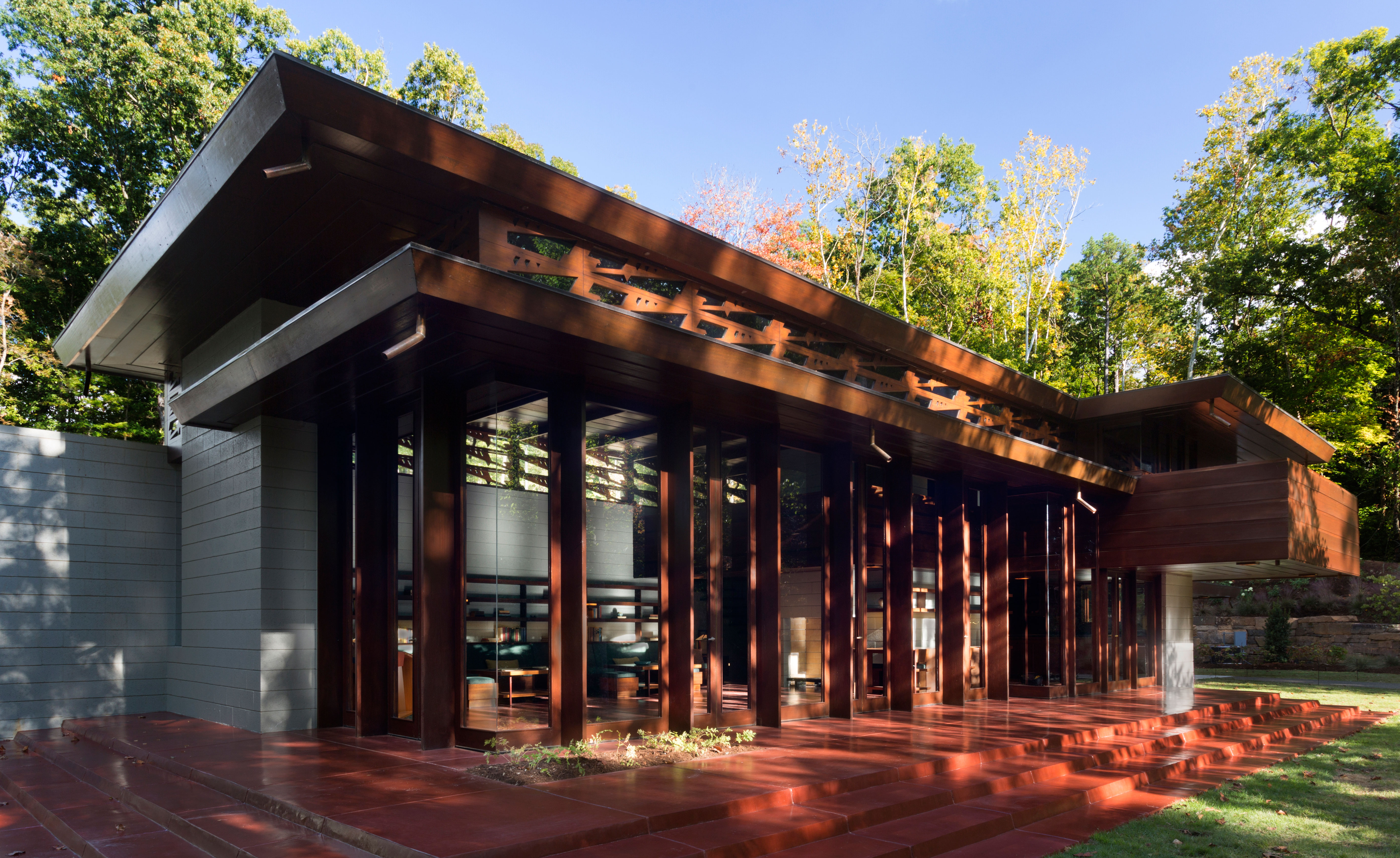 Frank Lloyd Wright S Bachman Wilson House Gets A New Lease Of Life At Crystal Bridges Wallpaper