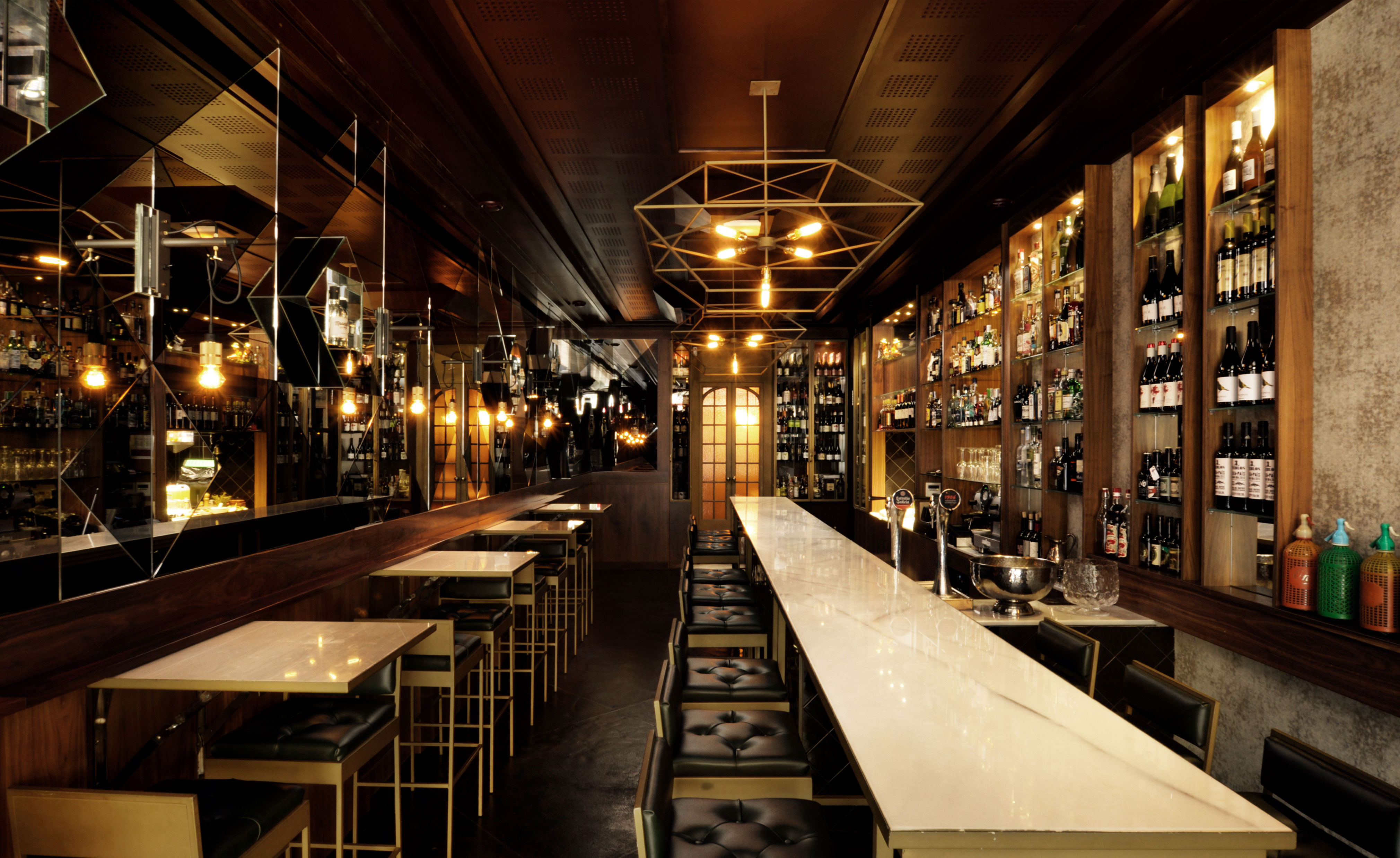 Malam 233 N Restaurant Review Barcelona Spain Wallpaper