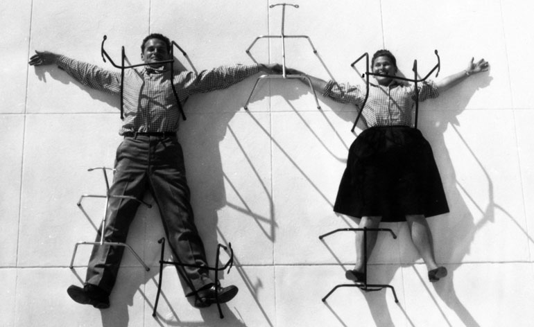 The Barbican celebrates the design world of Charles and Ray Eames