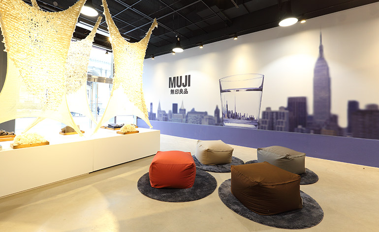 Muji opens its largest american store wallpaper for Design hotel 1690
