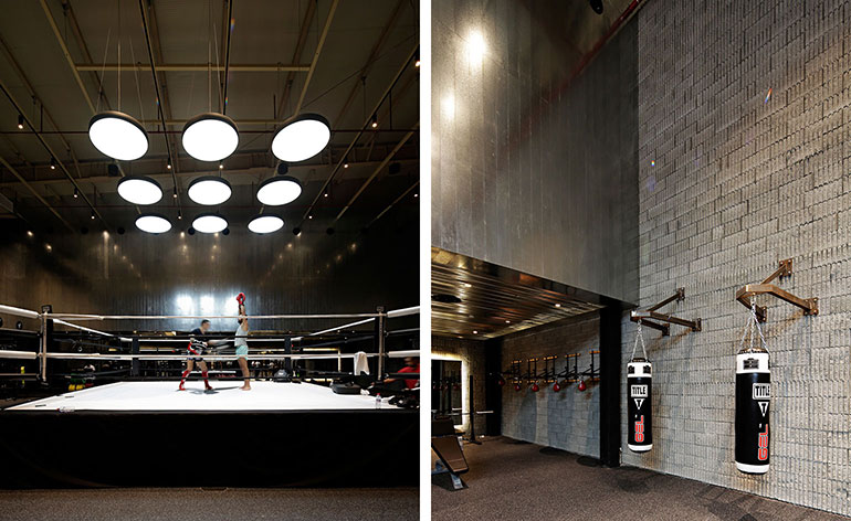 Lab100 Design Kuwait Boxing Studio Wallpaper Magazine