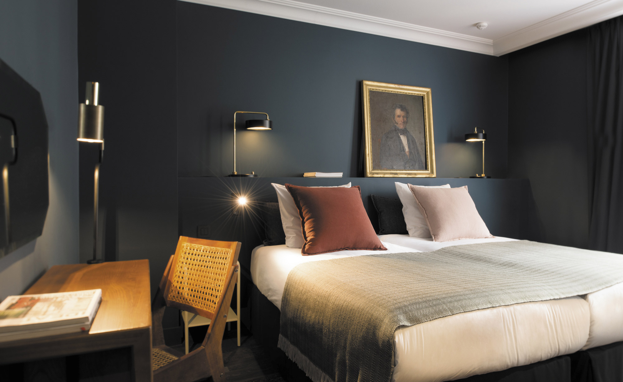 c o q hotel review paris france wallpaper. Black Bedroom Furniture Sets. Home Design Ideas