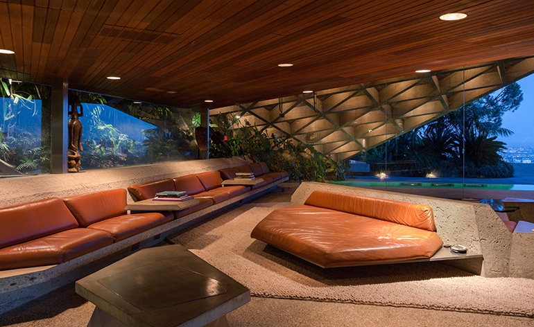 John Lautner S Sheats Goldstein House Is Bequeathed To