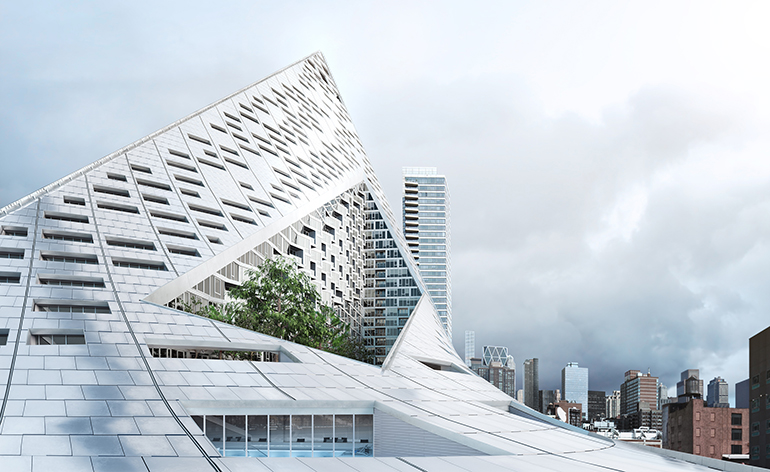 New York S Via 57west By Bjarke Ingels Group Wallpaper