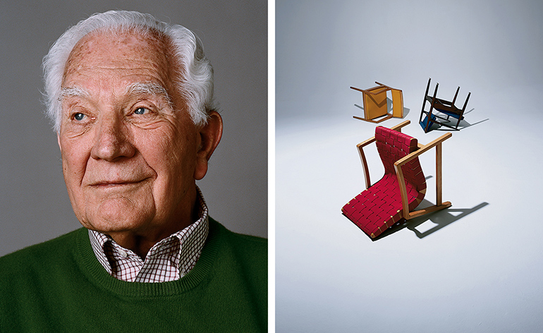 From The Archives Furniture Designer Jens Risom At 91
