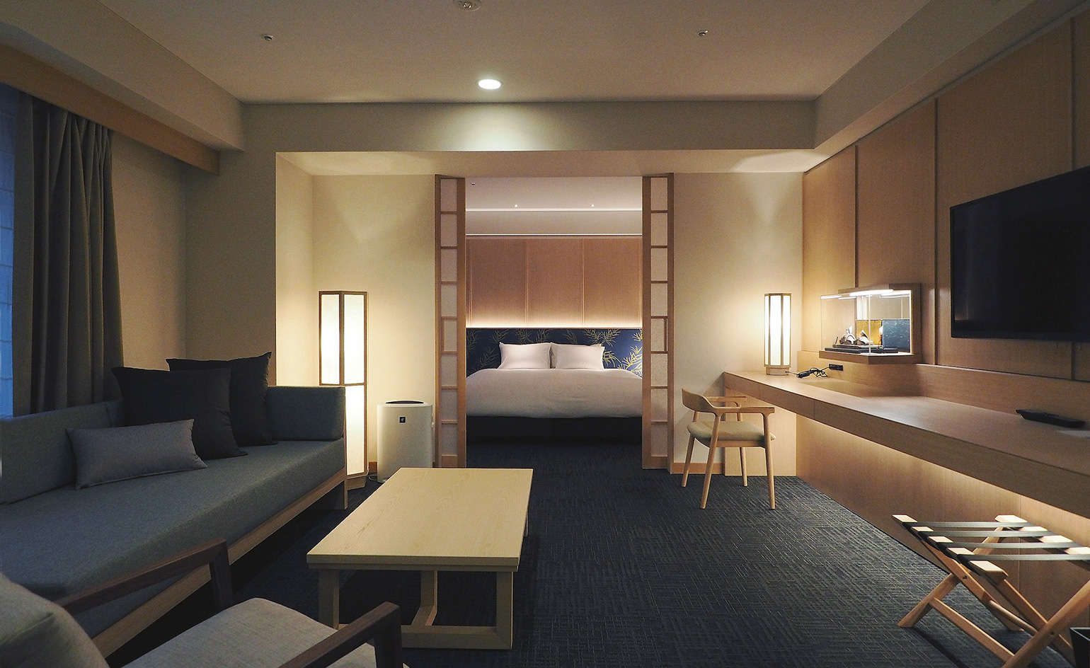 Noku hotel review kyoto japan wallpaper for Design hotel japan