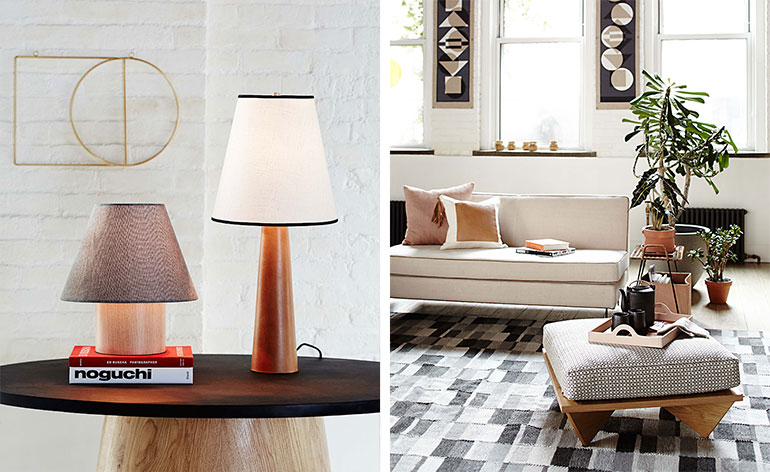 west elm and commune collaborate on furniture collection. Black Bedroom Furniture Sets. Home Design Ideas