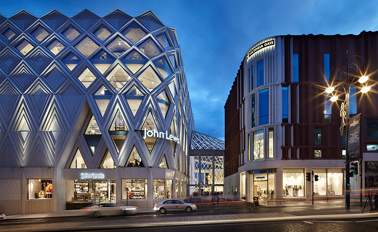 London Architects Acme Creates A Retail Arcade In Leeds