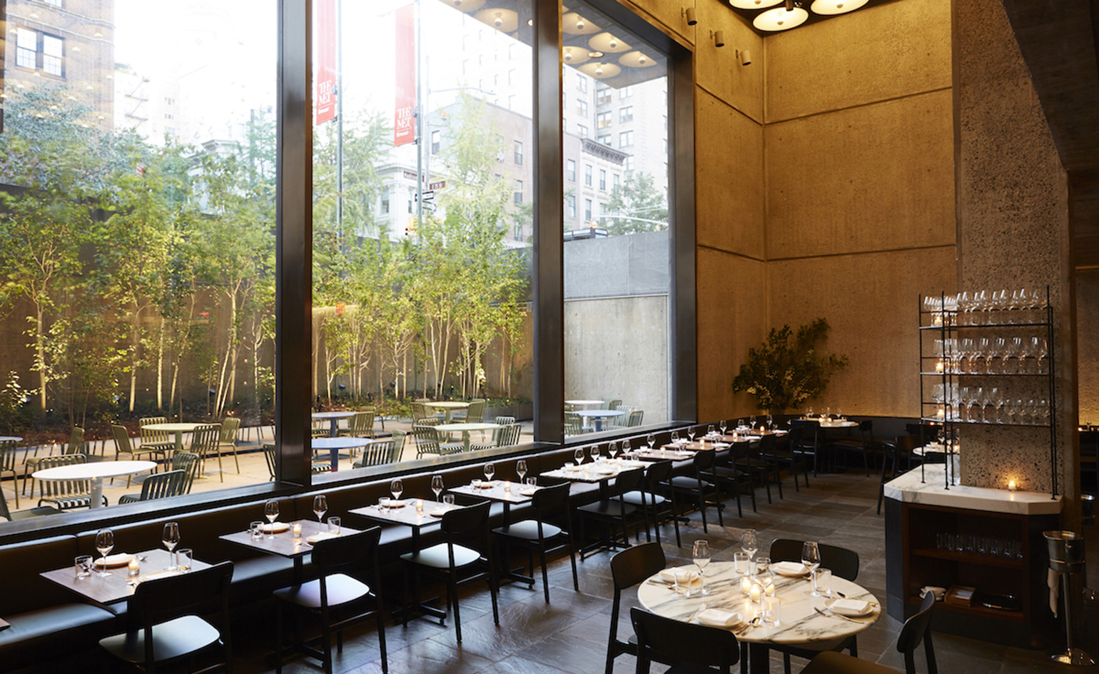 flora bar restaurant review new york usa wallpaper