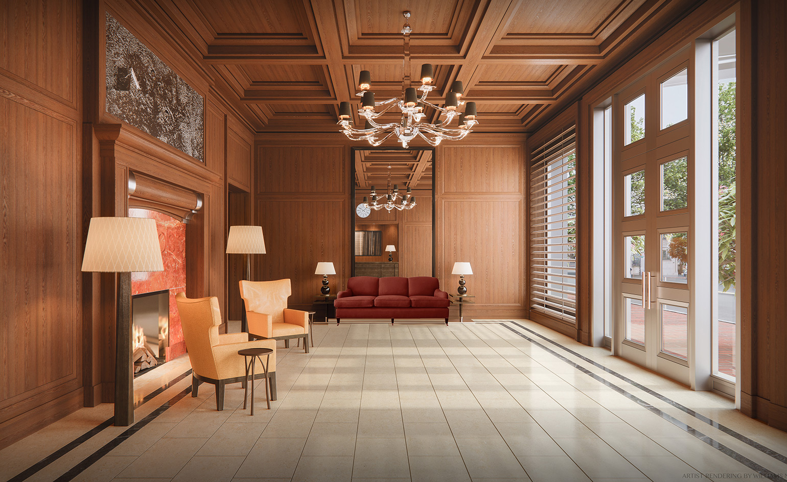 Thierry Despont Creates A Four Seaons Lounge And Lobby