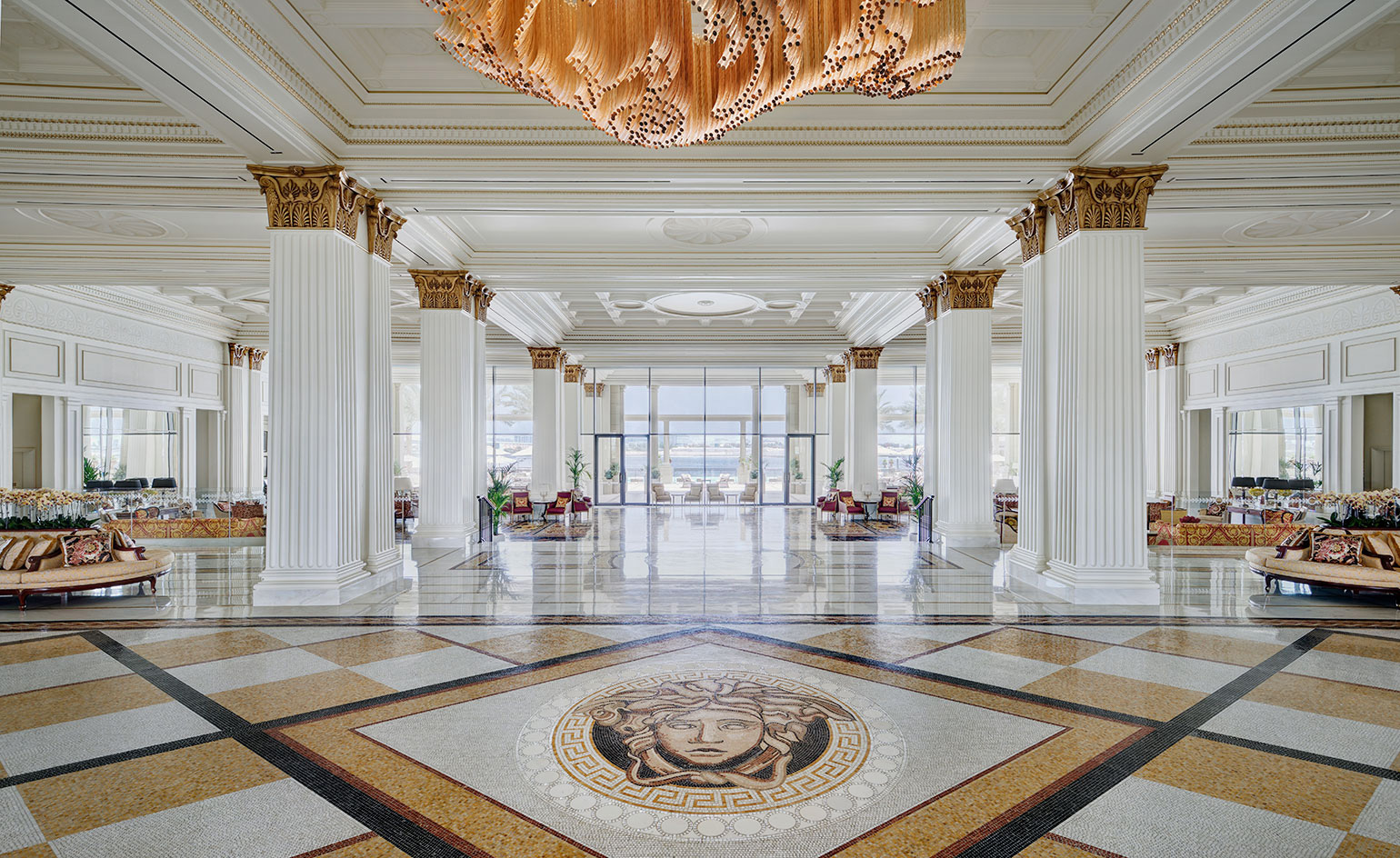 Palazzo versace wallpaper Grand home furniture dubai