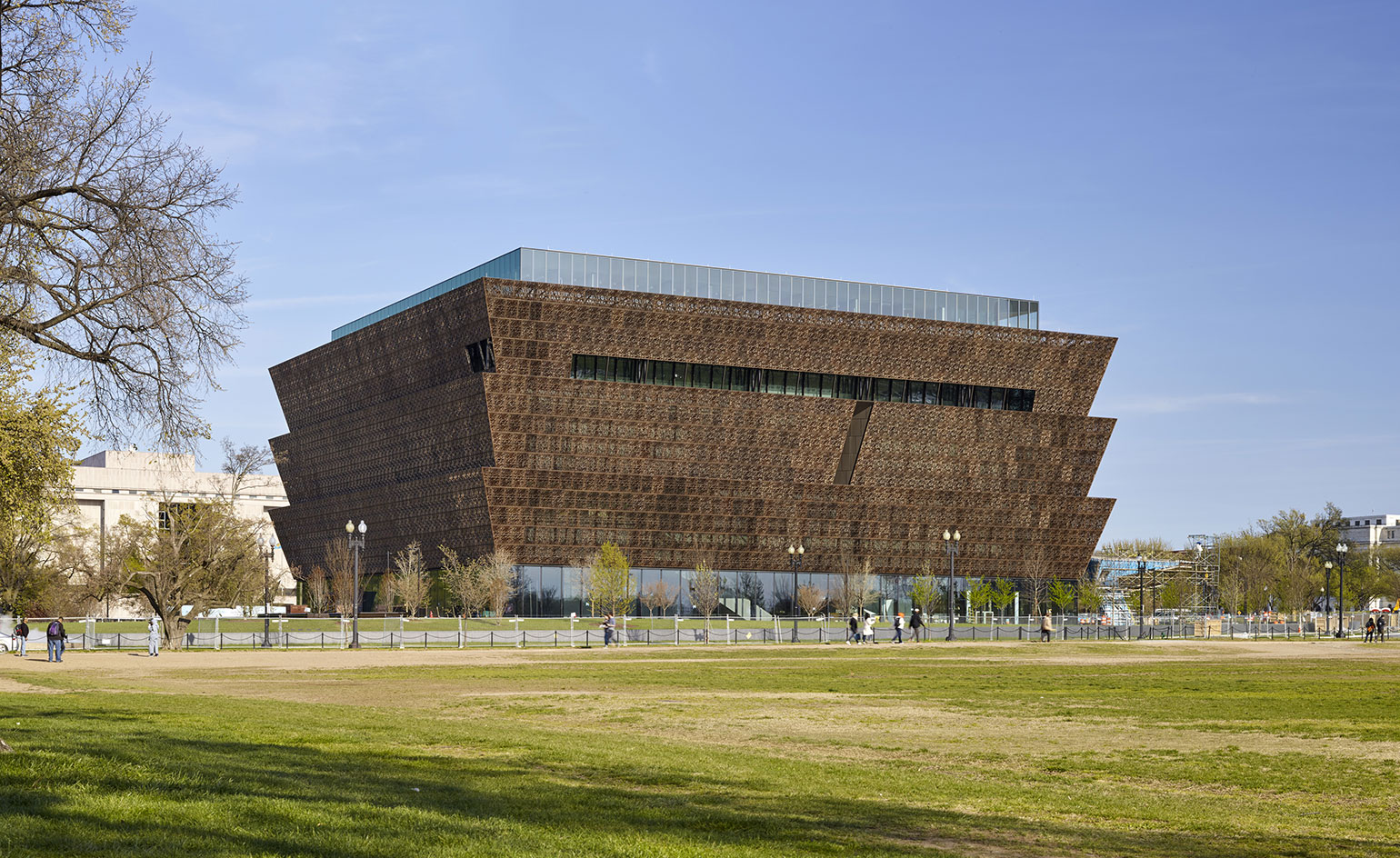 National Museum of African American History and Culture prepares to open in Washington, DC