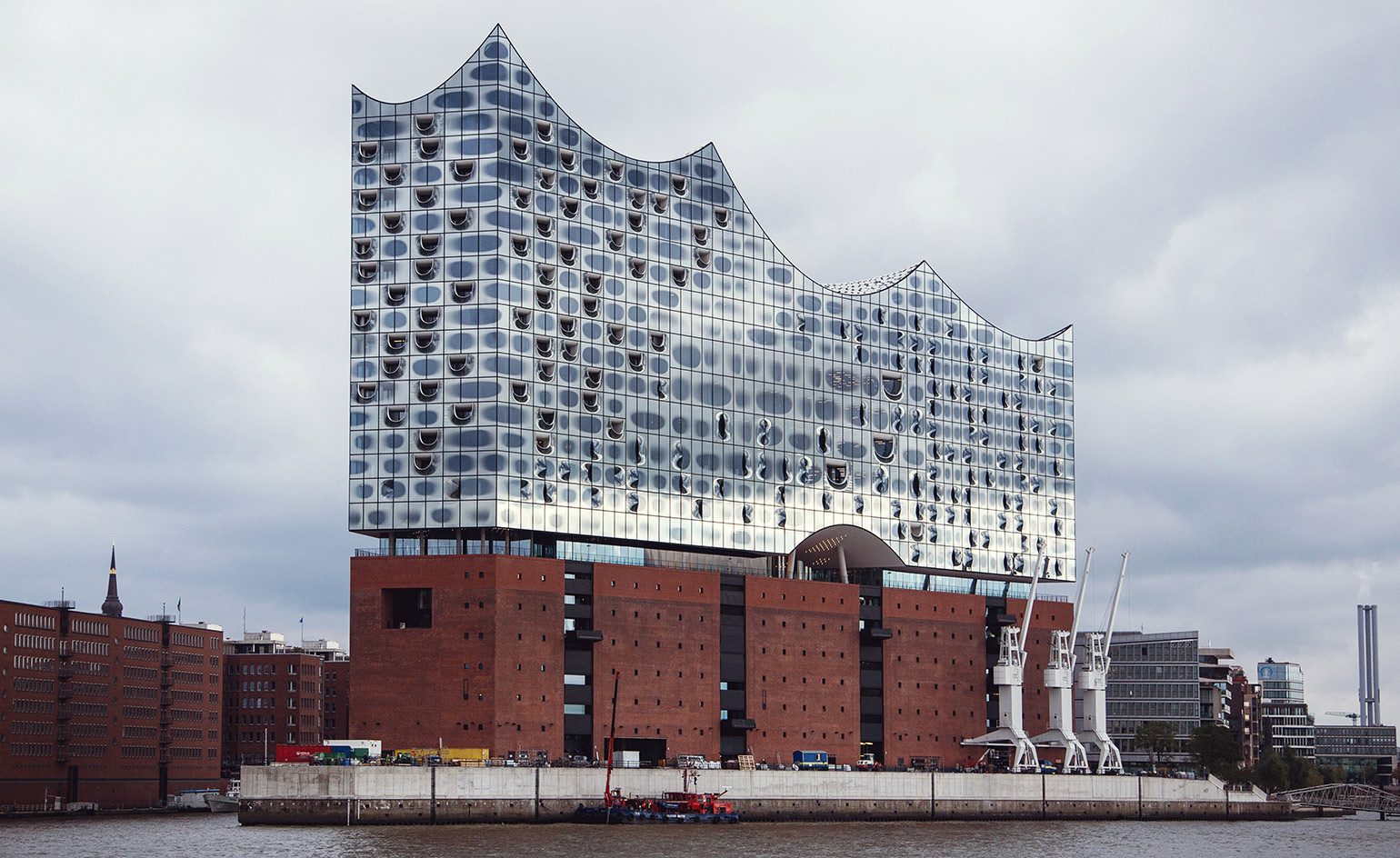 herzog de meuron 39 s elbphilharmonie opens in hamburg wallpaper. Black Bedroom Furniture Sets. Home Design Ideas
