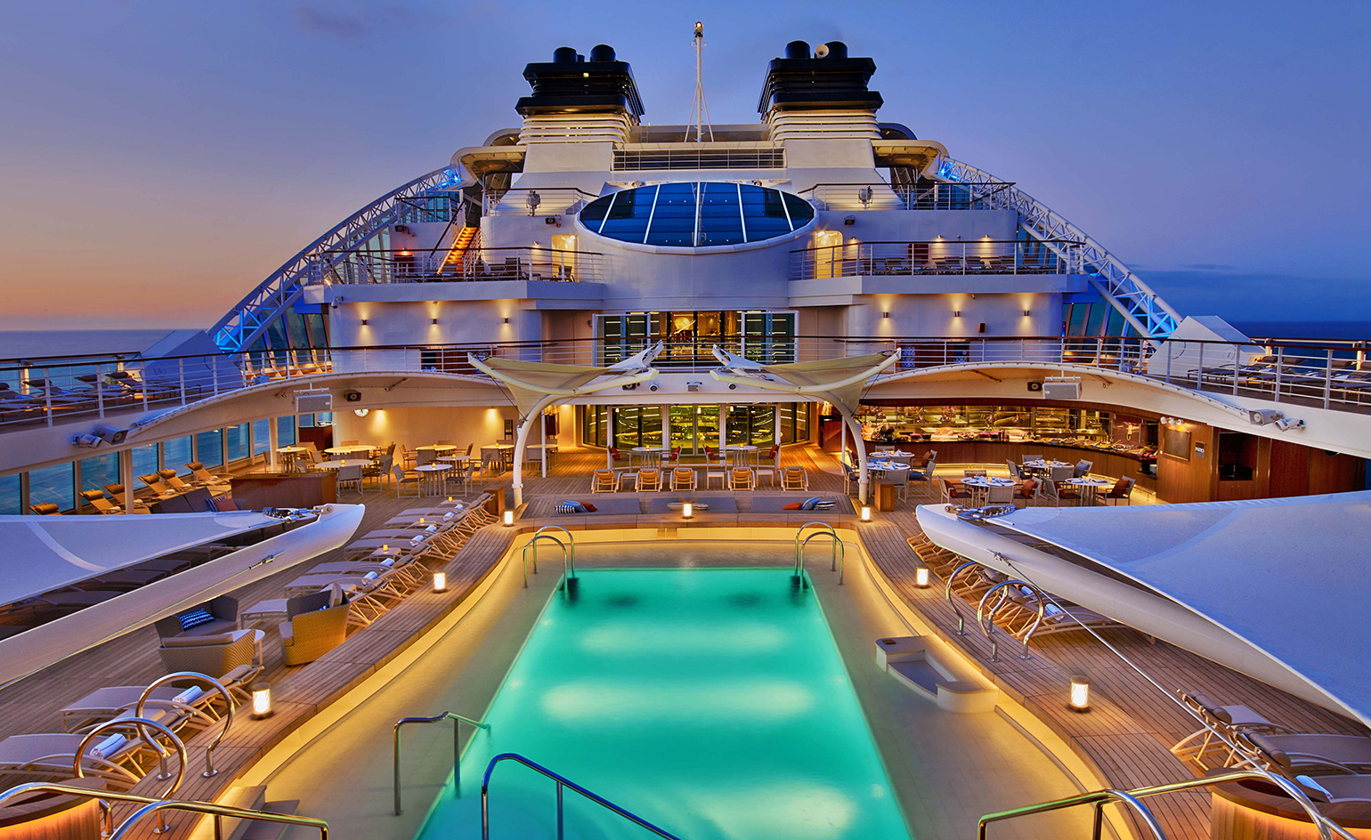 Ship shape luxury cruise line seabourn launches the for Luxury small cruise lines