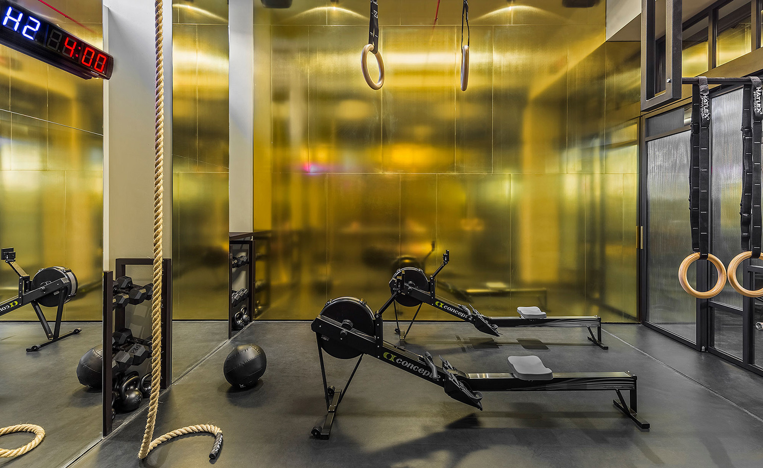 fighting fit dsquared2 s new gym is a knockout wallpaperForCeresio Palestra