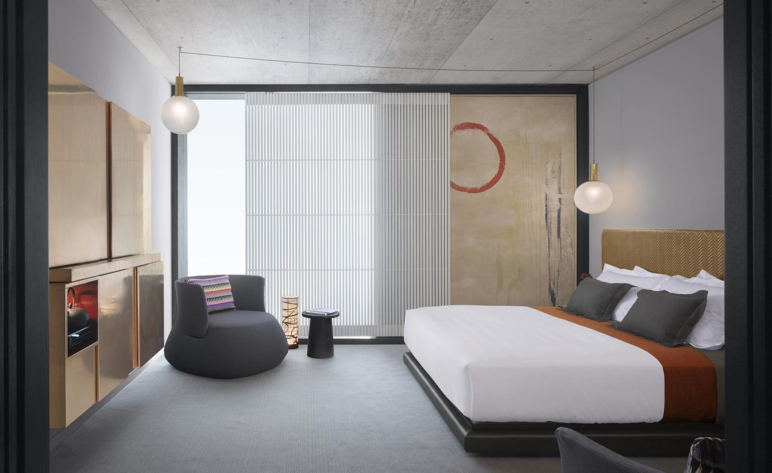 Nobu hotel shoreditch hotel review london uk wallpaper for Shoreditch interior design