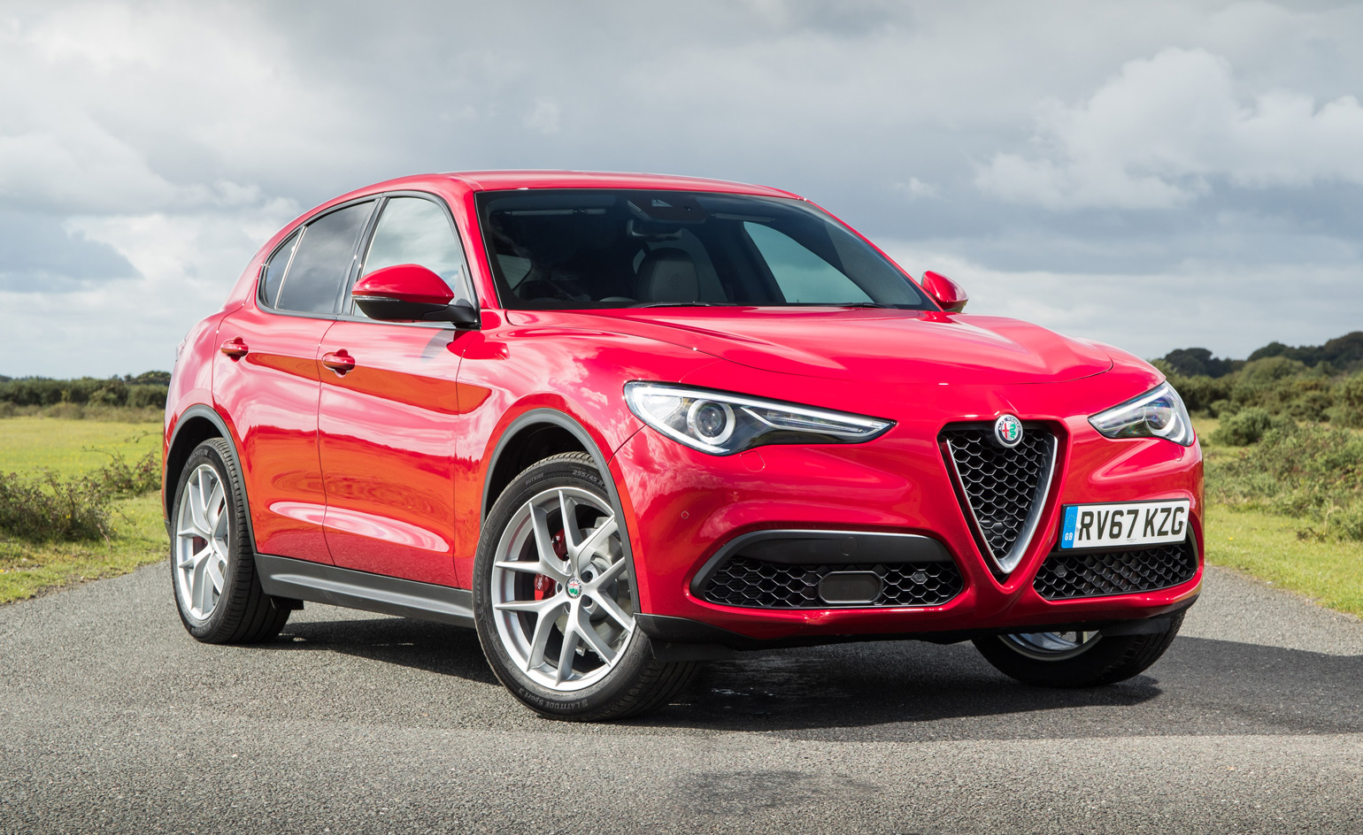 go big we take alfa romeo 39 s new stelvio suv for a spin. Black Bedroom Furniture Sets. Home Design Ideas