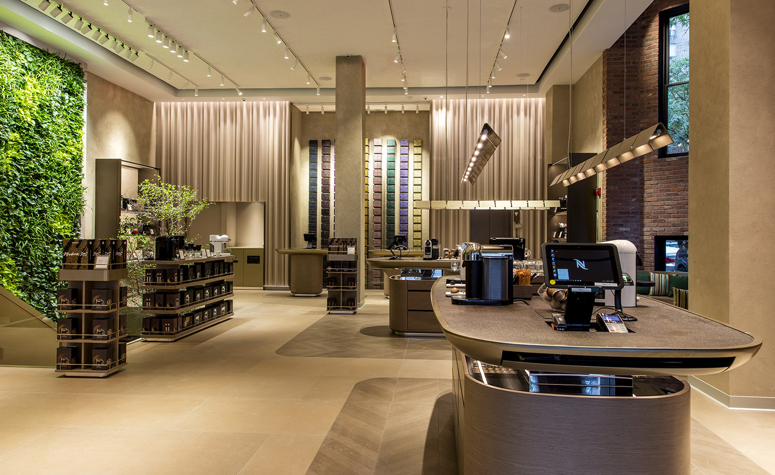 Nespresso taps Universal Design Studio for coffee emporium