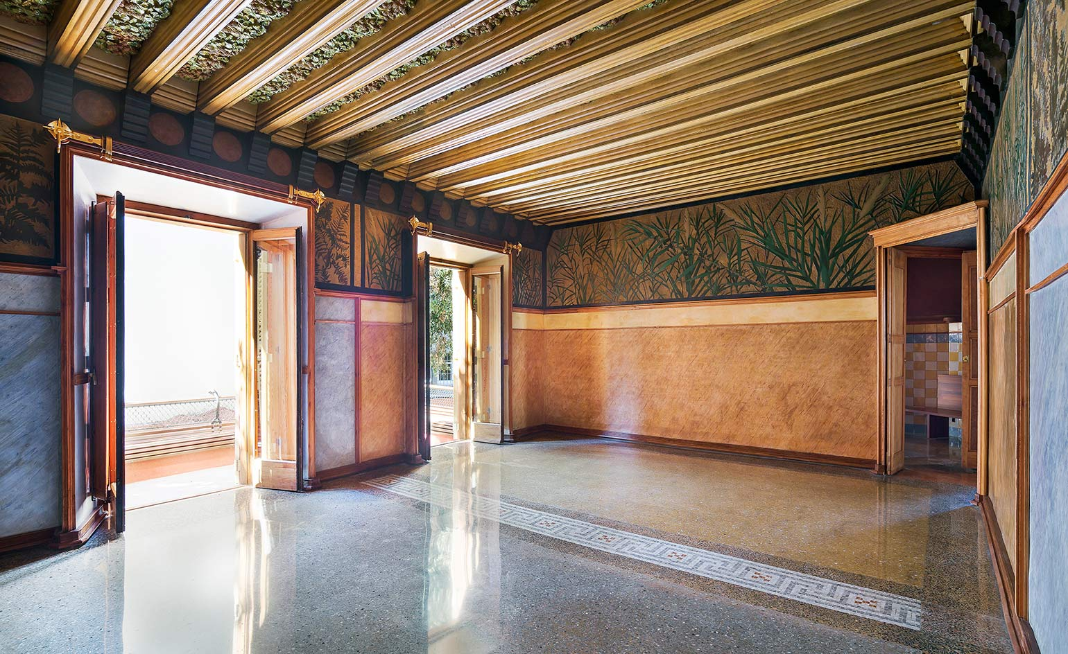 Gaud 39 s casa vicens reopens to the public in barcelona - Casa torres barcelona ...