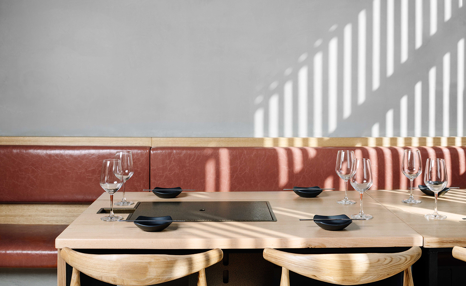 Melbourneu0027s Hinoak Offers Korean Barbecue With A Generous Helping Of  Interior Style