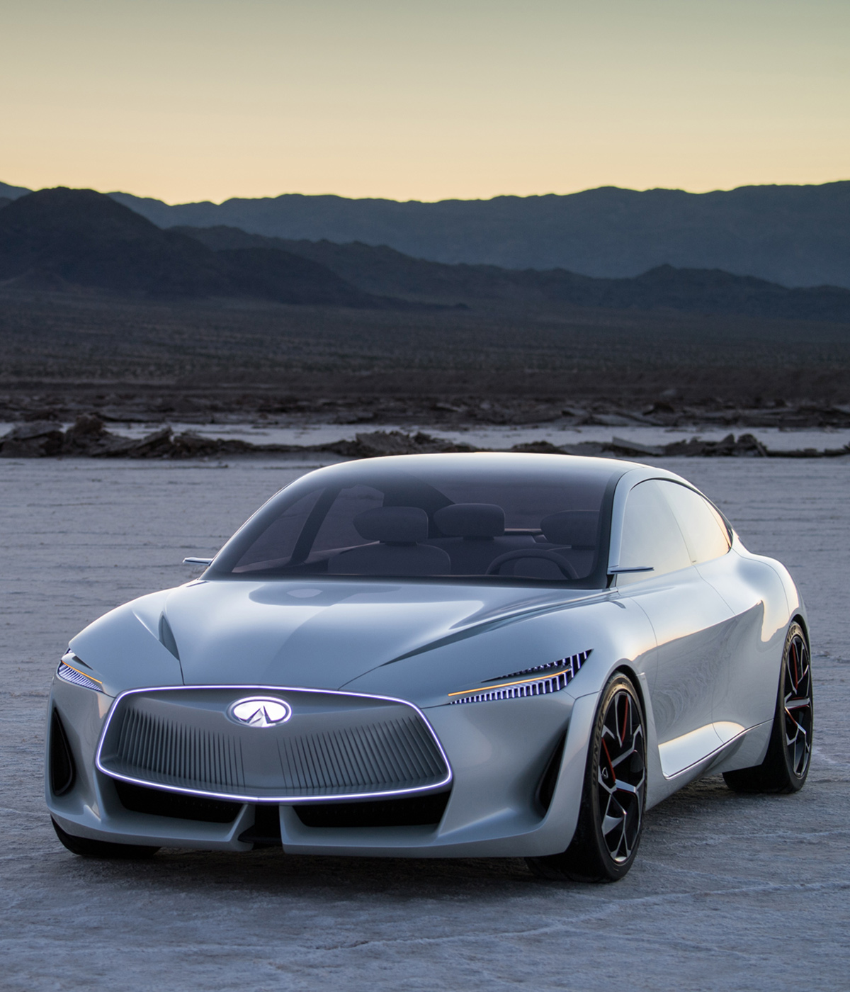 Infiniti Introduces Its Dynamic Q Inspiration Concept Car