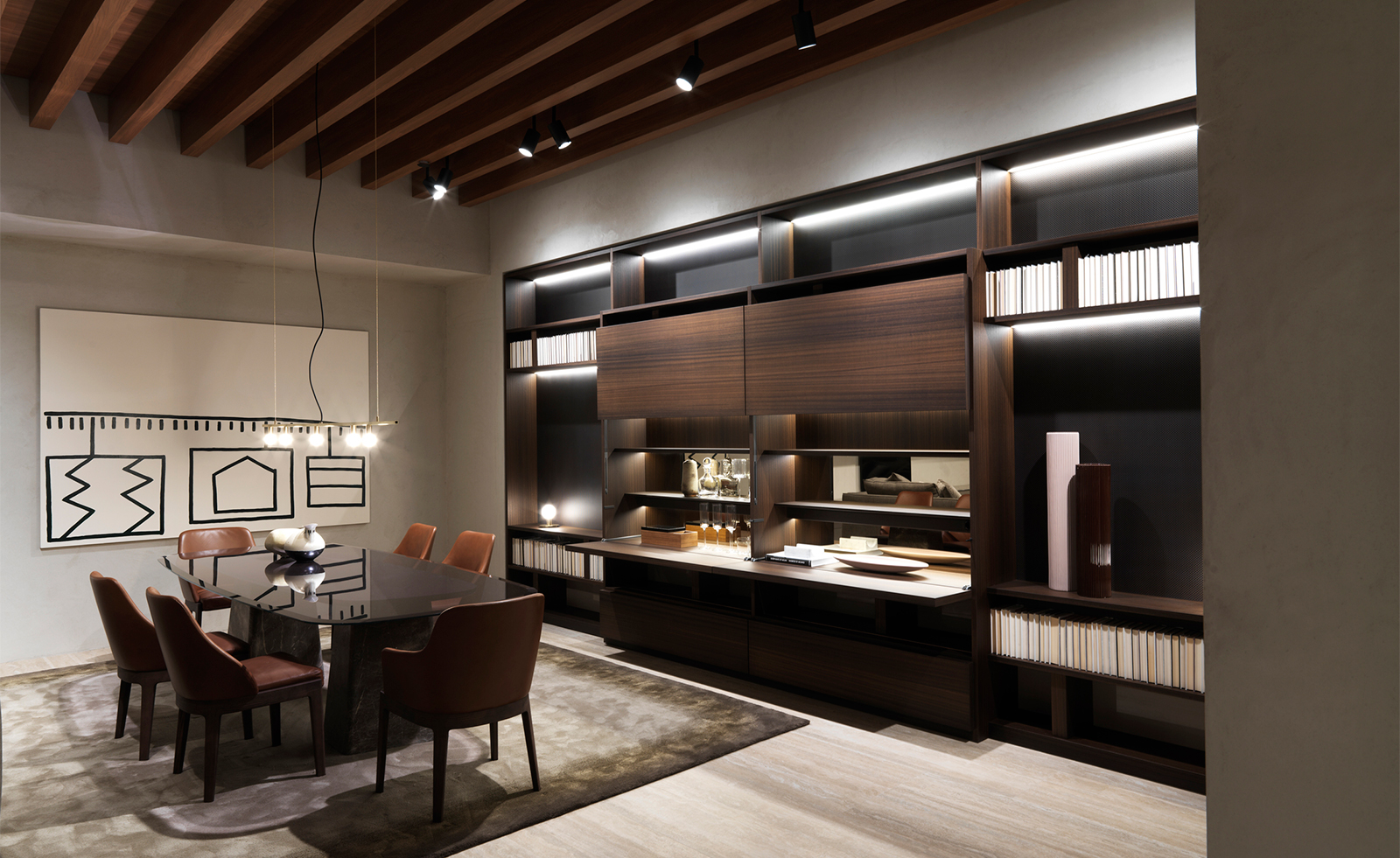 Mobili Living Molteni.Molteni C S New Italian Showroom Lands In Manhattan