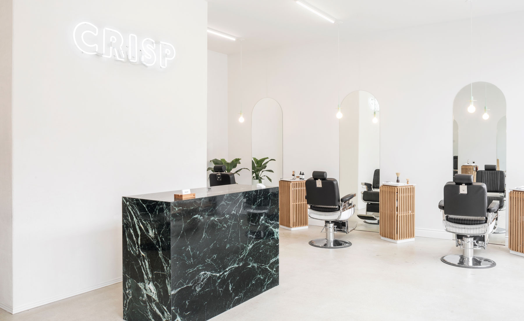 Montreal's Architectural Barber Shop Is A Minimalist Dream