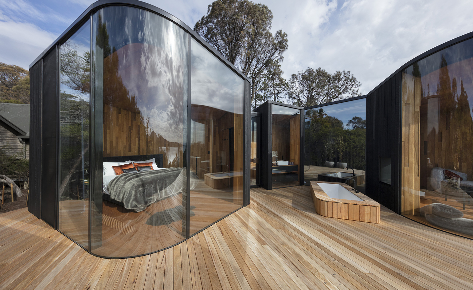 Freycinet Lodge Coastal Pavilions Hotel Review Tasmania