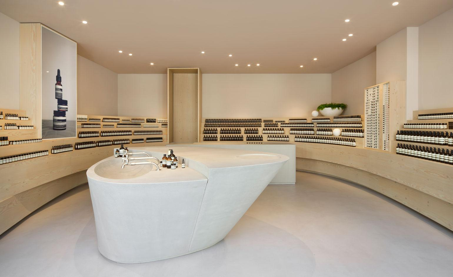 Aesop Stores A Visual History Of Interior Architecture