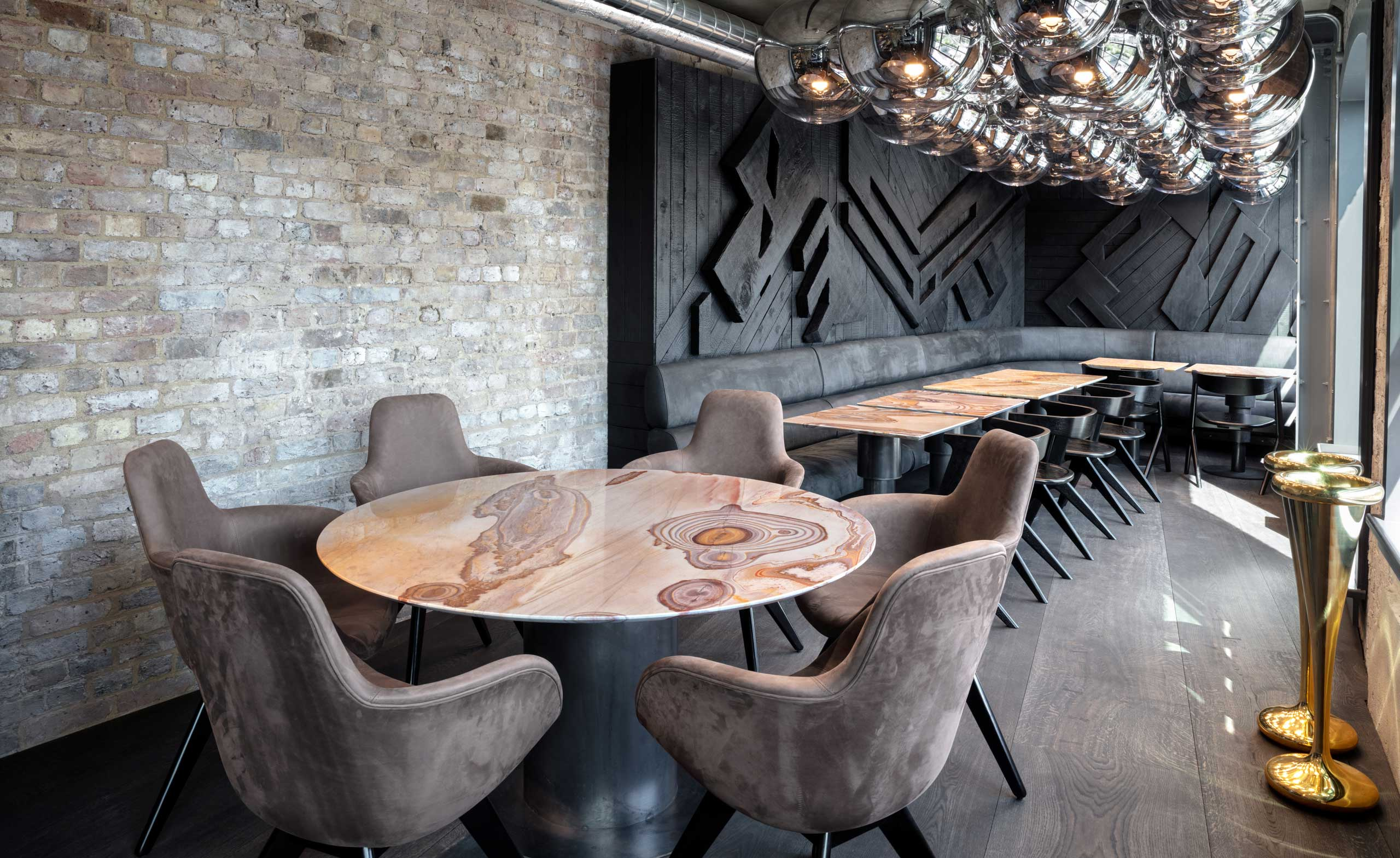 Coal Office Restaurant Review London Uk Wallpaper