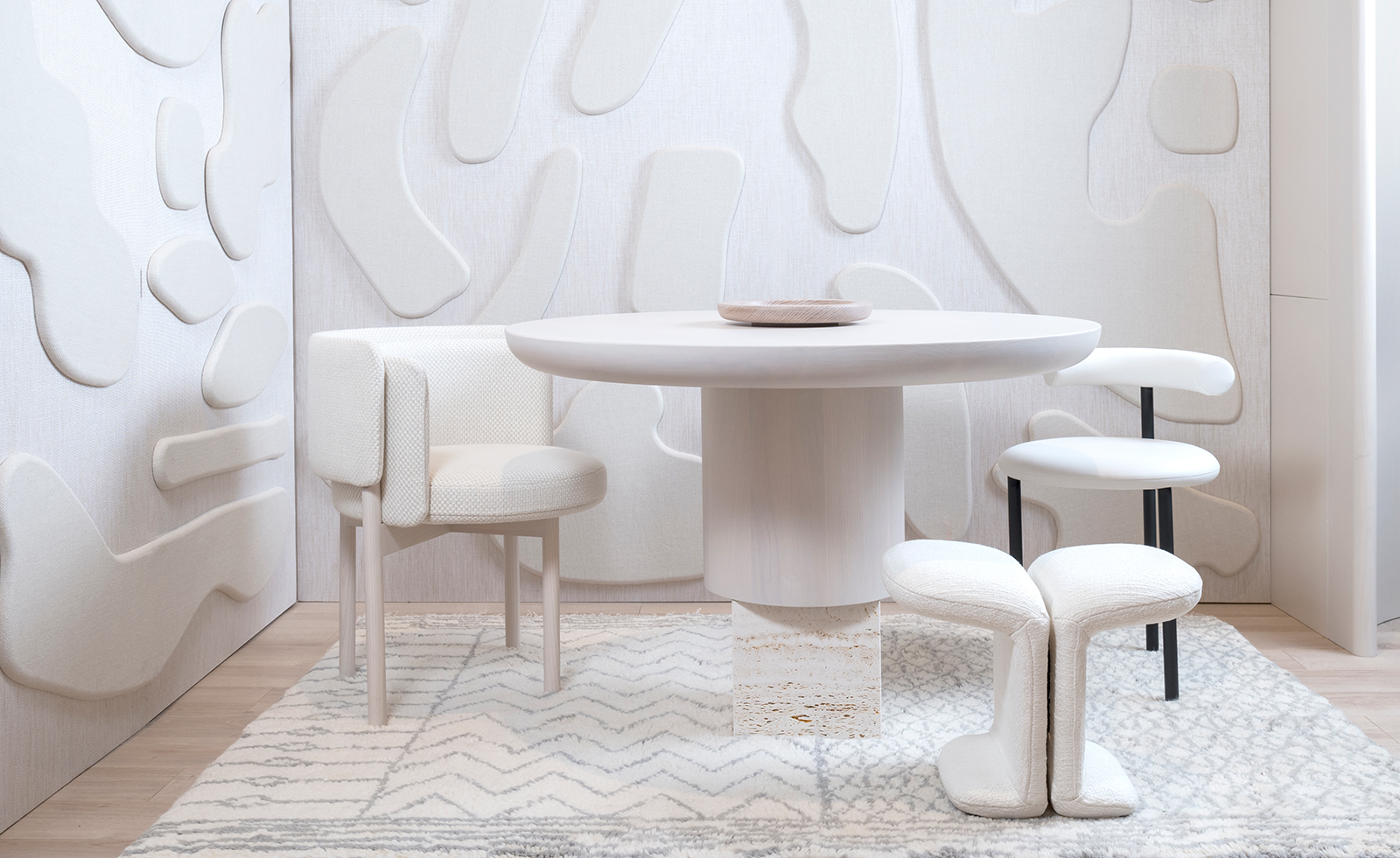 Paolo Ferrari Taps Fluid Forms In New Furniture Collection Wallpaper