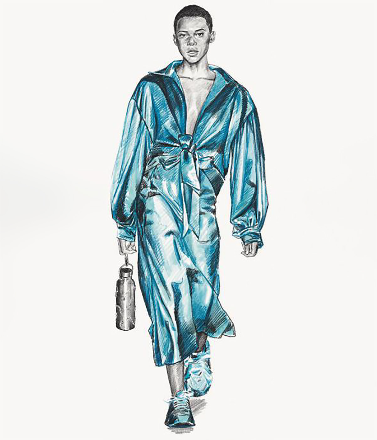 Collina Strada A/W 2020 illustration