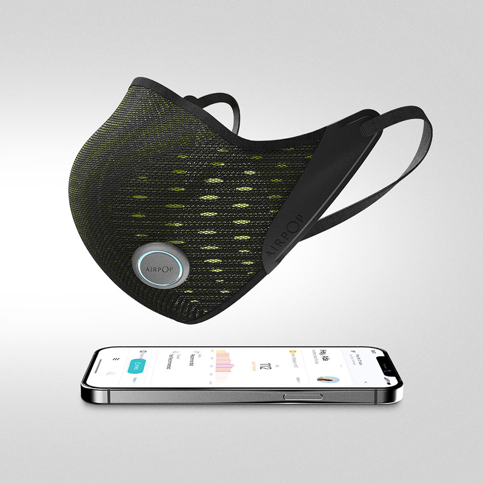 Face mask and app by Airpop