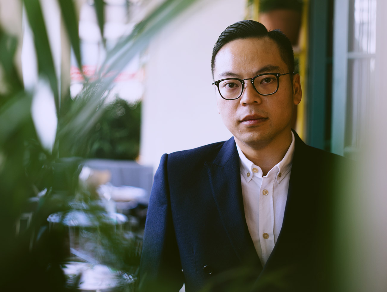 Duddell's co-founder Alan Lo