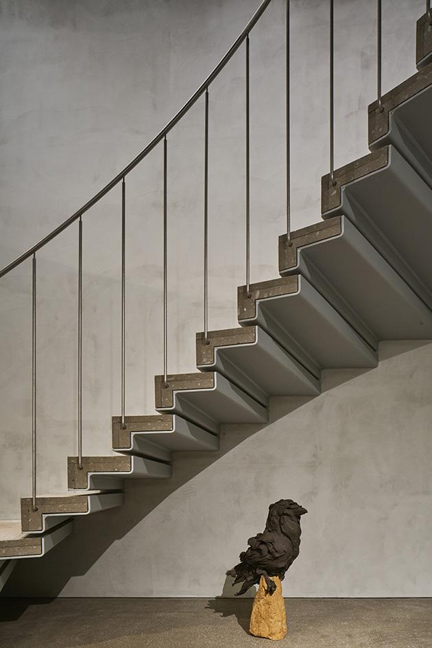 Arts & Science boutique staircase