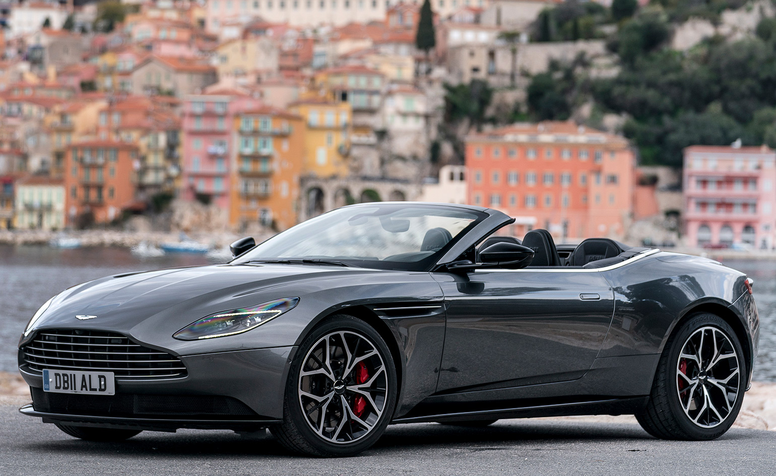 test driving the aston martin db11 volante in south france wallpaper. Black Bedroom Furniture Sets. Home Design Ideas