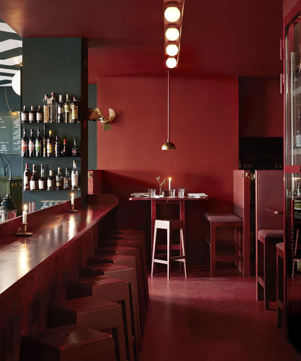 Bar Central in Stockholm, designed by Ugly Cute