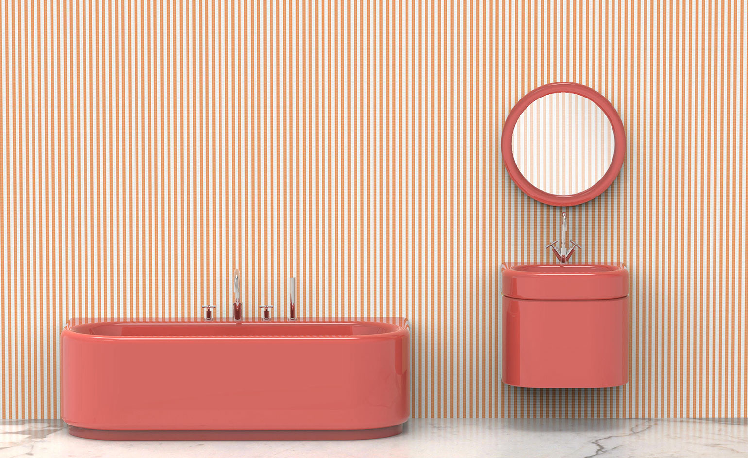 India Mahdavi's new bathroom collection for Bisazza