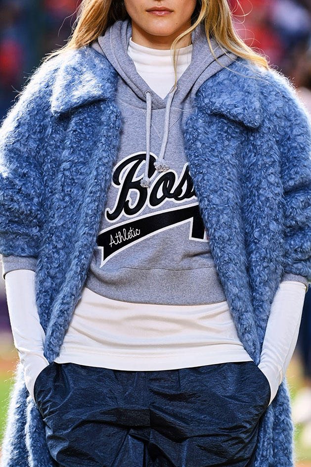 Milan Fashion Week S/S 2022 Boss x Russell Athletic show