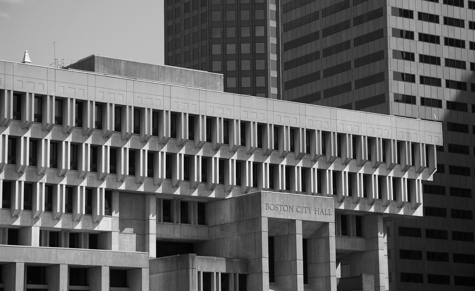 brutalist boston map pinpoints the city u2019s iconic buildings